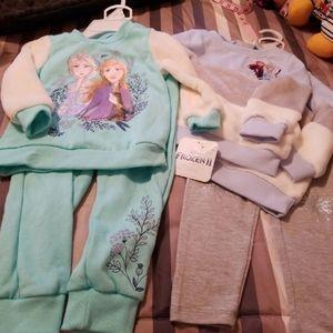 2 +  jogger sets of frozen clothes